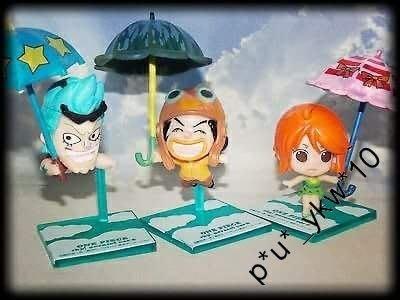 中古日版One Piece*盒蛋※Franky/Nami/USOPP/Zoro《全7種》