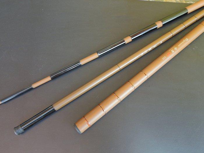超值入門竿 低碳複合纖維 輕硬 手釣竿 水刀 15尺 450cm