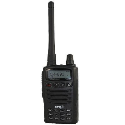 《實體店面》EVO P-201 業餘對講機 VHF 低電壓警告 LCD液晶顯示 P201 單頻 手持式對講機 有收音機