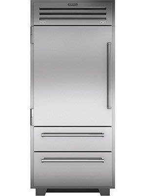 唯鼎國際【美國Sub-zero冰箱】ICBPRO3650-LH/RH 全機不鏽鋼實體門冰箱