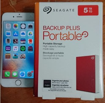 Seagate 5TB Backup Plus 2.5吋 外接硬碟 全新現貨