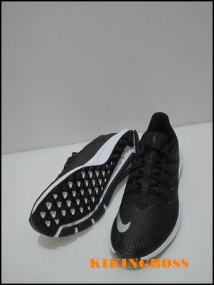 【喬治城】NIKE QUEST 男款慢跑鞋(黑灰) 輕量 防滑 AA7403001 超取免運