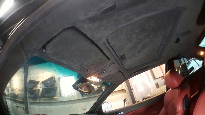 神工~BMW M3頂棚翻新編製麂皮ALCANTARA.E92.E30.E28.E60.F30.F82.F31.M2.1M