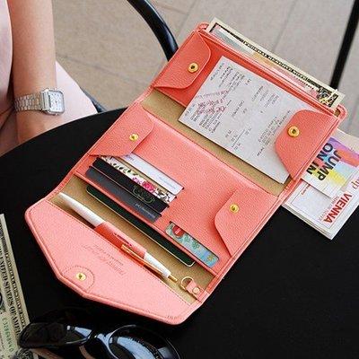 ❅PAVEE❅ 韓國plepic~ Tripping Pop Wallet 旅行伴奏 多功能收納護照包錢包