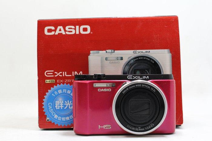 【高雄青蘋果3C】Casio ZR-1500 ZR1500 桃紅 自拍美肌 二手相機 數位相機 自拍相機 #17894