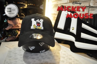 New Era x Disney Mickey Mouse M 9Twenty Black 迪士尼米老鼠Big M 老帽