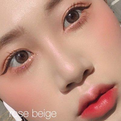 Beautiful 韓國3CE秋冬新品MOOD RECIPE單色腮紅臟橘色裸米色ROSE BEIGE
