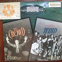 美版進口LD影碟(二張一套.豪華開版.1928年)~The Wind/The Crowd 風/群眾電影(非DVD或VCD)