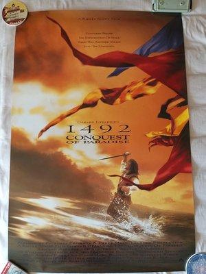 1492 征服天堂 原版美版單面電影海報