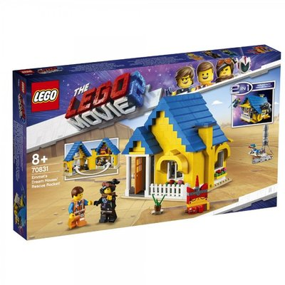 台中*宏富*LEGO 樂高玩電影2系列 70831 Emmet's Dream House/Rescue Rocket!