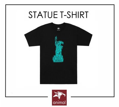 [Spun Shop] Animal Bikes Statue T-Shirt 短袖上衣
