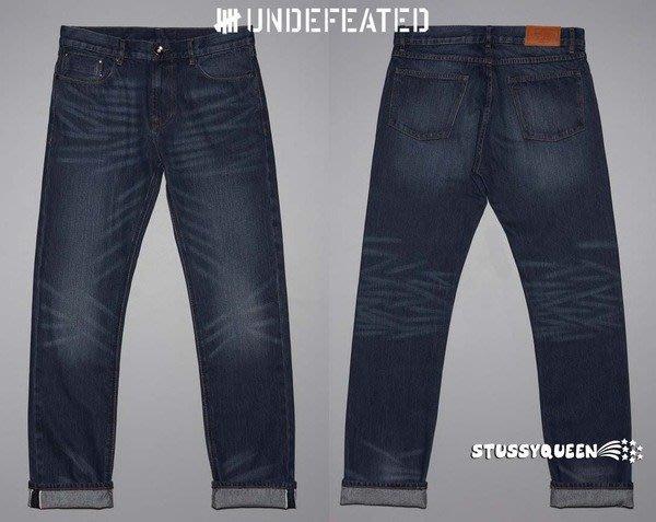 【 超搶手 】全新正品Undefeated UNDFTD Washed Jean 水洗刷紋 小直筒 牛仔褲 w32
