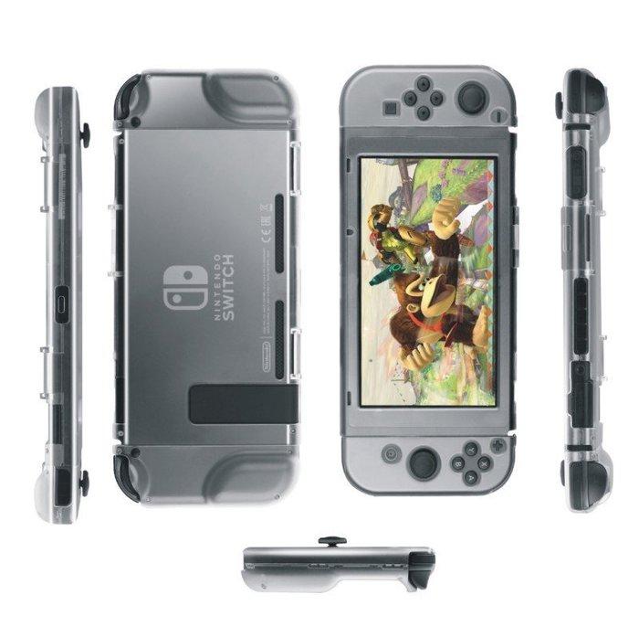 任天堂 Nintendo Switch 全機 保護套 透明水晶殼護套 Joy-Con 手把 搖桿