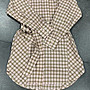╭☆包媽子店☆Burberry Vintage 復古格紋棉質繫腰襯衫式連衣裙((上班族必買款))4款牠價