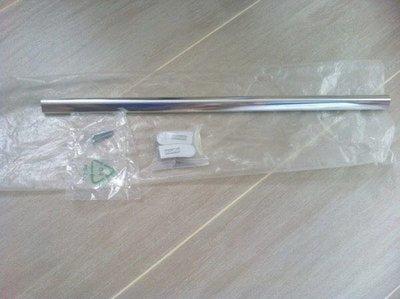 100%新【Snaidero】意大利製造17.5吋長Stainless Steel銀色不銹鋼金屬浴室毛布掛袈(原$490)Italy Made