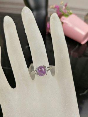 天然紫水晶925銀戒指 現貨庫存 不用等 工廠批發價