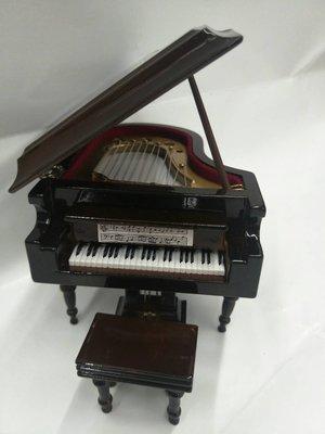 ╰☆美弦樂器☆╯深咖啡色平台鋼琴造型音...
