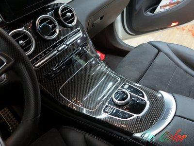 Dr. Color 玩色專業汽車包膜 M-Benz GLC250 內裝飾板包膜