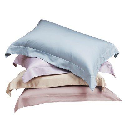 淘趣雜貨店/高端100支天絲枕套純色冰絲光滑枕芯套單人枕頭套一對裝(型號不同價格不同)
