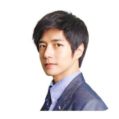 整頂 假髮 真髮絲-簡潔帥氣時尚短直髮男假髮2色73vb9[獨家進口][米蘭精品]
