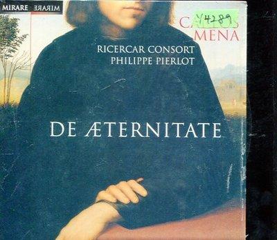 *還有唱片行* DE ATERNITATE / RICERCAR CONSORT 全新 Y4289