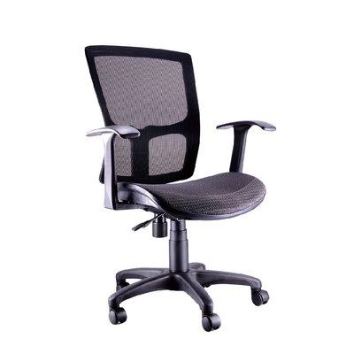 螞蟻雄兵 LV-822 網布辦公椅(黑色款) 電腦椅 職員椅 會議椅 電競椅 透氣 人體工學 辦公桌椅 椅子