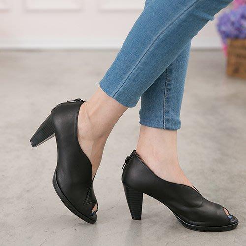 現貨 踝靴 旅行柏林超美顯瘦V字高跟踝靴 丹妮鞋屋 台灣手工鞋