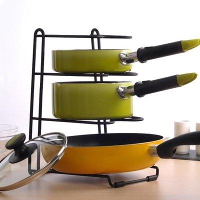廚房鍋蓋架多功能置物架放鍋蓋的架子菜板架砧板架案板收納架鍋架
