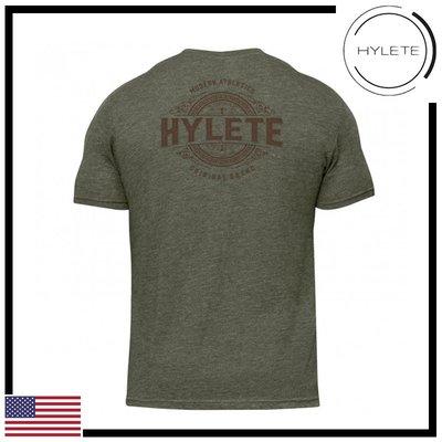 ►瘋狂金剛◄ 橄欖綠 HYLETE distilled tri-blend crew tee 短袖T恤