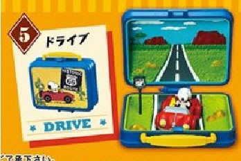 Re-Ment Peanuts Snoopy & Woodstock Little Lunch Box Museum 史路比 # 5 Drive