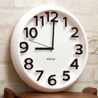時尚創意靜音掛鐘現代簡約時鐘個性數字鐘表藝術客廳石英鐘