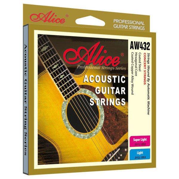 【嘟嘟牛奶糖】木吉他套弦-Alice AW432-L W718