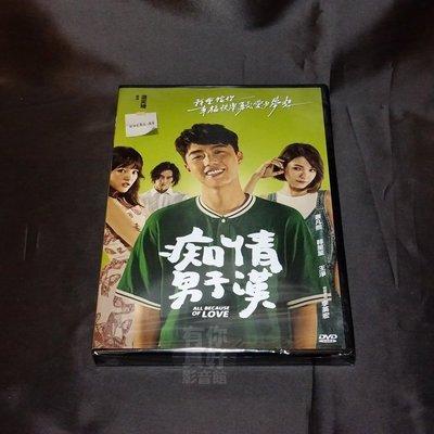 全新影片《痴情男子漢》DVD 蔡凡熙 韓笙笙 王淨 李英宏 連奕琦