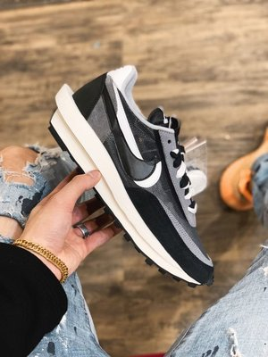 Sacai X Nike Ld Waffle 灰色/黑色/紫色 灰白/黑白/紫綠 桃紅