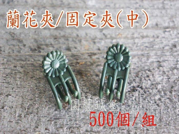 【園藝城堡】蘭花夾(中) 固定夾 嫁接夾500個/組