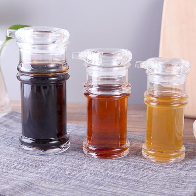 家用油壺醋壺防漏油瓶醬油瓶醋瓶油罐調料調味壺廚房用品塑料瓶子