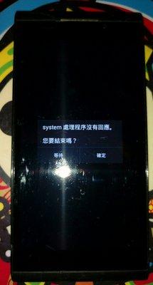 $${故障機}Taiwan Mobile a6s黑色$$