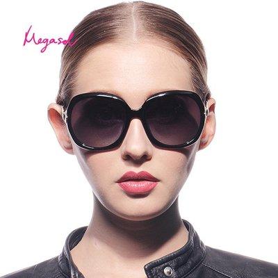 【MEGASOL】寶麗萊UV400防眩偏光手工太陽眼鏡(Dior設計師款-MS246) 多色任選