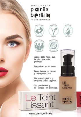 【彩妝大師】法國彩妝 巴黎柏林paris berlin『完美肌膚粉底液30ml』滑順的肌膚觸感