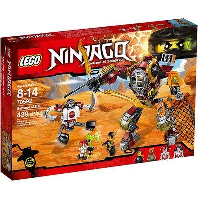 【LEGO樂高】忍者系列 70592 M.E.C.機甲機器人