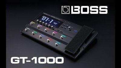 造韻樂器音響- JU-MUSIC - Roland Boss GT-1000 綜合效果器 GT1000 效果器 電吉他