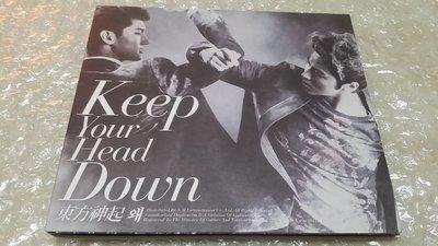 TVXQ 東方神起 왜(Keep Your Head Down 韓版 附昌珉 小卡/JYJ