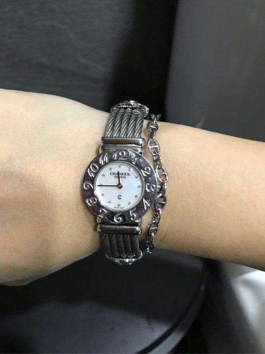CHARRIOL夏利豪經典款手錶