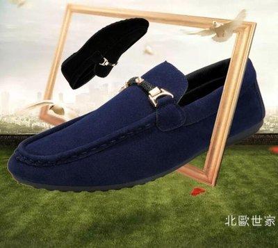 夏季豆豆鞋男一腳蹬懶人鞋韓版百搭個性紅色男鞋社會小伙休閒潮鞋 【愛購】