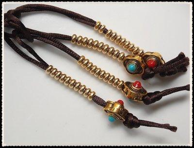 【雅之賞|藏傳|佛教文物】特賣* 西藏藏式手工制 純銅計數器( 2對 )~071508