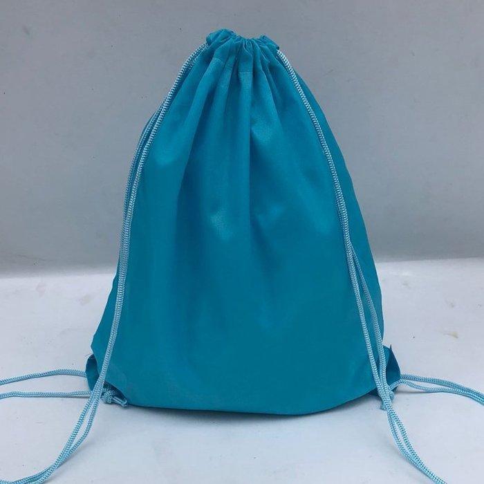 創意 旅行必備 定制抽繩雙肩包運動防水拉繩男女學生小背包袋子 束口袋 印字logo 10個起訂