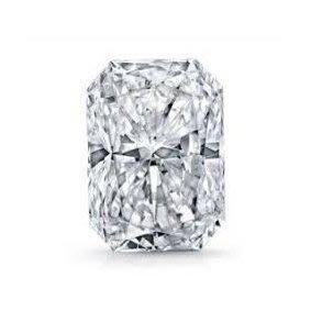 GIA 1.01克拉 E VS1 Radiant Cut Diamond (一克拉雷地恩切刻方鑽石價格)