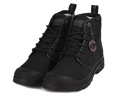 =CodE= PALLADIUM PAMPA HI LITE+ WP 彈道尼龍防水軍靴(黑)76512-008 OG 女