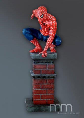 (I LOVE樂多)海外進口SPIDER-MAN蜘蛛俠 蜘蛛人 收藏 擺飾 展示 一比一