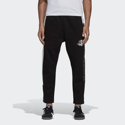 【豬豬老闆】ADIDAS PLANETOID STP PANTS 黑白 潑墨 休閒 長褲 男款 DX6012
